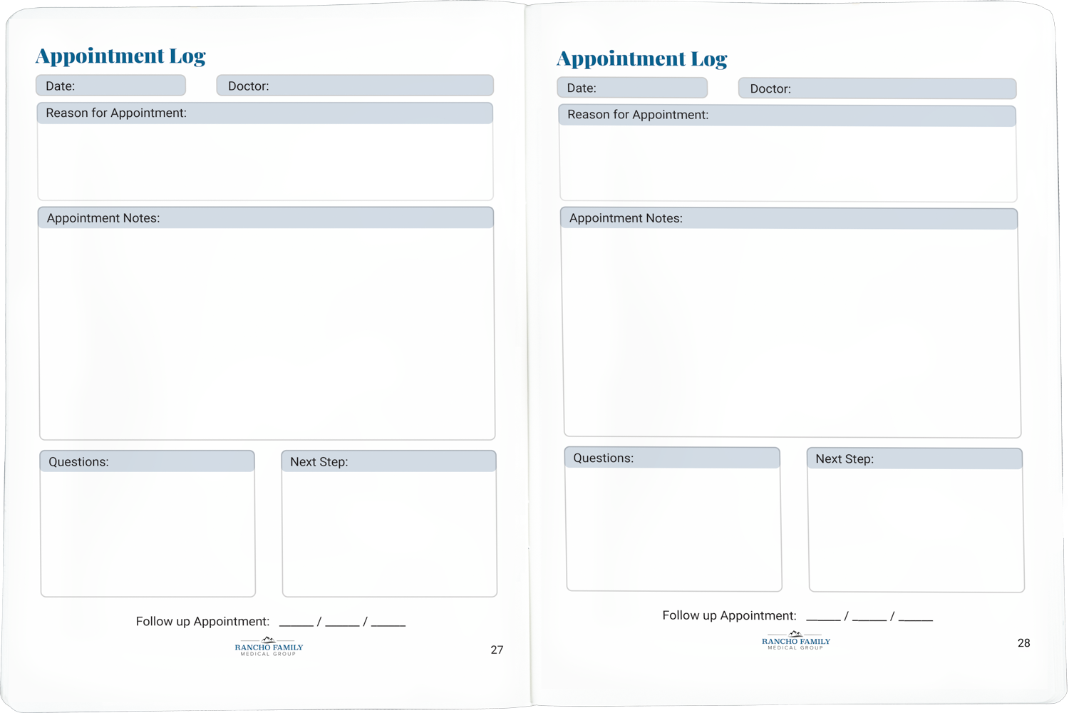 Appointment Logs