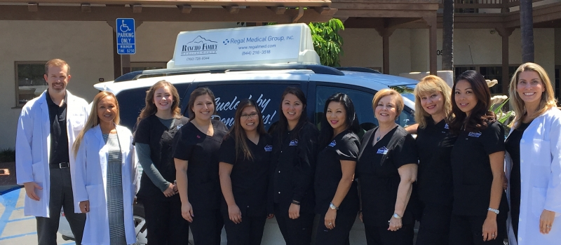 Rancho Family Medical Group staff with topper (002)